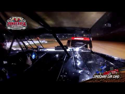 #R4 Ricky Arms - Crate Late Model - 8-6-21 Ponderosa Speedway - In-Car Camera - dirt track racing video image