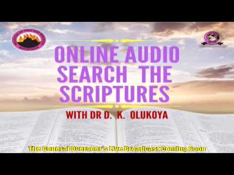 FRENCHMFM SPECIAL SUNDAY SERVICE 23RD AUGUST 2020 MINISTERING: DR D.K. OLUKOYA(G.O MFM WORLD WIDE).