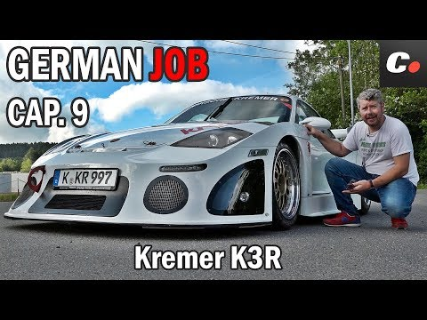 GERMAN JOB Cap. 9 | Kremer K3R (Porsche 911 GT3 Cup) | Prueba / Test / Review | coches.net