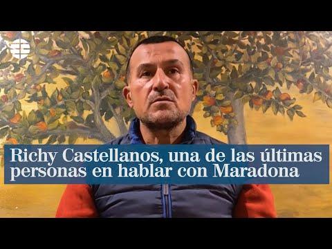 Maradona a Castellanos: «Hay dos jugadores que me encantaron: 'Mágico' González y Rivelino»