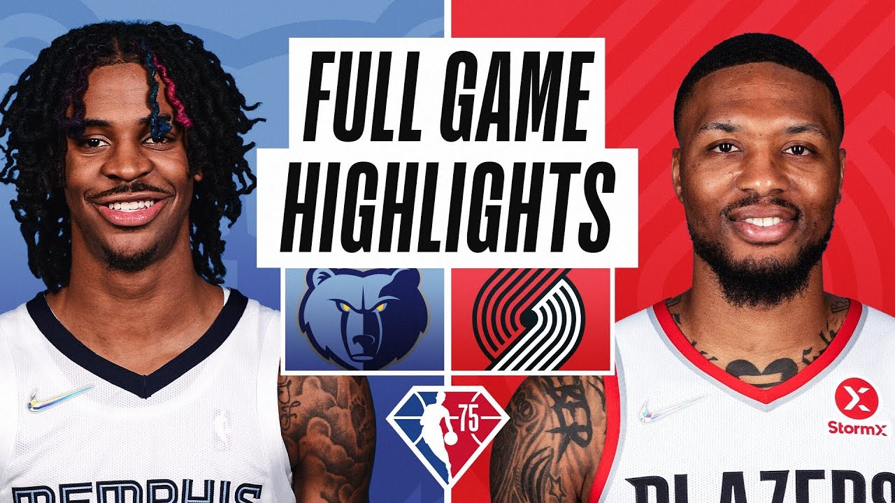 GRIZZLIES at TRAIL BLAZERS | FULL GAME HIGHLIGHTS | October 27, 2021
