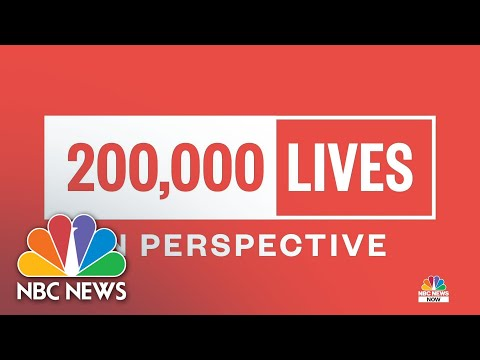 Putting 200,000 COVID-19 Deaths In Perspective | NBC News NOW