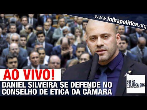 AO VIVO: DANIEL SILVEIRA SE DEFENDE NO CONSELHO DE ÉTICA - DEPUTADO DE BOLSONARO - MORAES, STF
