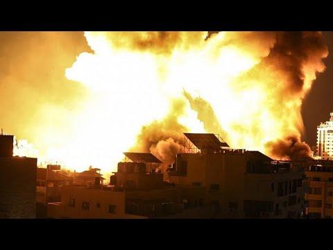 Esforços diplomáticos não travam violência entre Israel e o Hamas