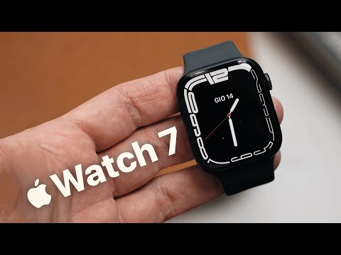 APPLE WATCH SERIE 7 – Unboxing e p …