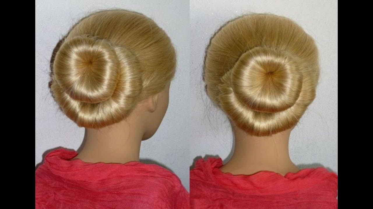 Duble Haarknoten Frisur Mit Twister Für Alltagarbeitschuleuni