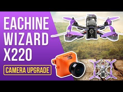 Best FPV Upgrade Eachine Wizard - Camera Mod for Noobs - Solderless RunCam Upgrade - UCf_qcnFVTGkC54qYmuLdUKA