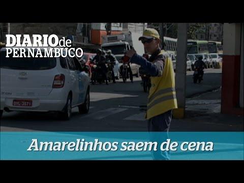 Amarelinhos deixam as ruas do Recife