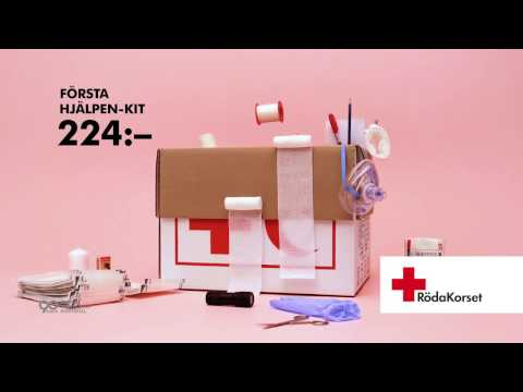 Röda Korset – Första hjälpen-kit 224 kr