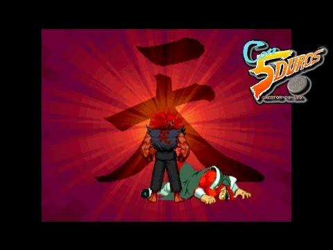 """STREET FIGHTER ALPHA 3 - """"CON 5 DUROS"""" Episodio 450 (+Dramatic Battle 2P con Silvio) (1cc) (CTR)"""