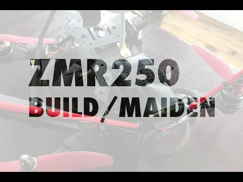 ZMR250 Mini Quadcopter Build Tips & Maiden Flight (Blackout Clone) - UCXForyVTdaoE50diO6znW4w
