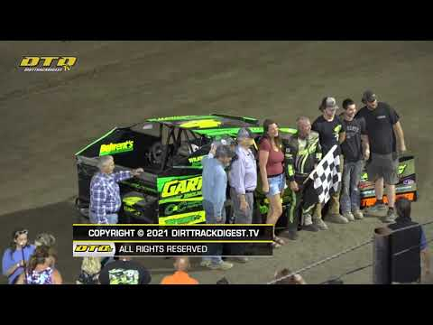 Lebanon Valley Speedway | Modified Feature Highlights | 6/26/21 - dirt track racing video image