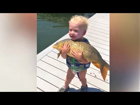 Kids and Babies Meeting Farm and Zoo Animals For the first time - Funniest Home Videos babiezTV