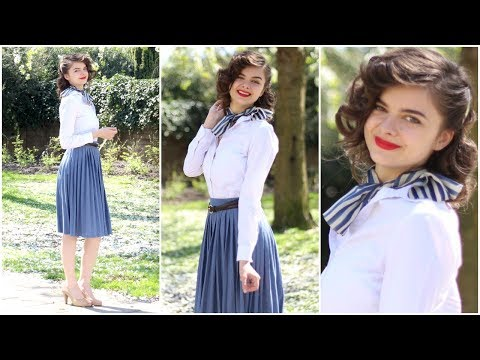 40s Vintage Inspired Head To Toe Look | Style Revival: 1940s