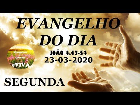 EVANGELHO DO DIA 23/03/2020 Narrado e Comentado - LITURGIA DIÁRIA - HOMILIA DIARIA HOJE