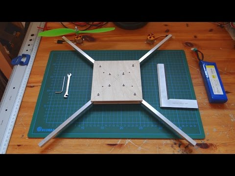 Homemade Quadcopter - part 2: Making the Frame [How to] - UCbujXybJ9iI2Jl1v7P61gFw