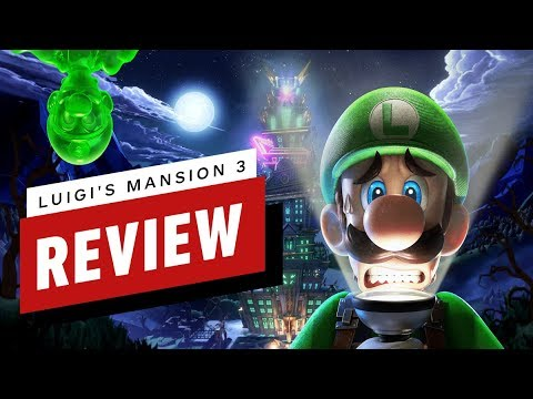 Luigi's Mansion 3 Review - UCKy1dAqELo0zrOtPkf0eTMw