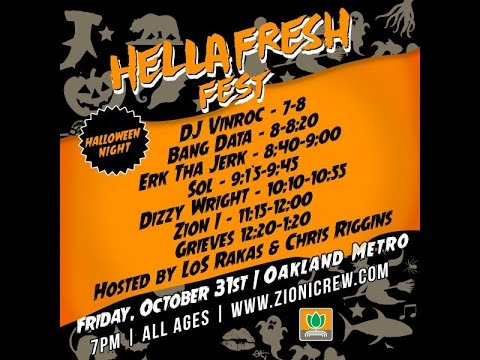 General Hydroponics & Zion-I Presents: Hella Fresh Fest 2014