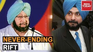 Amarinder Singh Hits Out At Sidhu, Accuses Him Of Running Away From Responsibility | Report On Rift