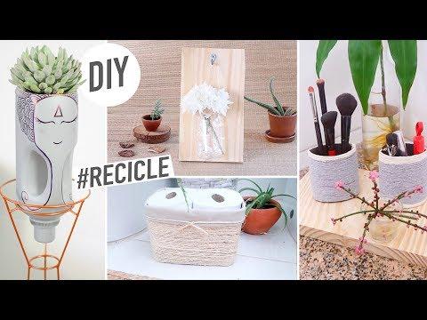 DIY do Lixo ao Luxo – Transformando Embalagens #Recicle #Decor