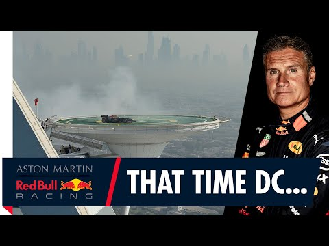 That Time David Coulthard Took F1 Donuts To A Whole New Level