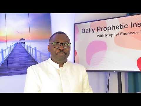 Prophetic Insight  Apr 26th, 2021