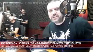 """""""Visitas Sangrando y el metal uruguayo ...""""  #123-021 sáb16.03.2019"""