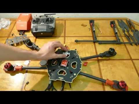 Tarot 650 Sport: сборка квадрокоптера - UCT4m06QYDjxhJsCabV_7I9w