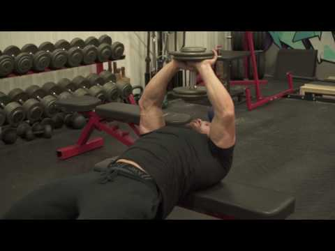 How to Perform a Dumbbell Pullover For a Massive Back and Chest