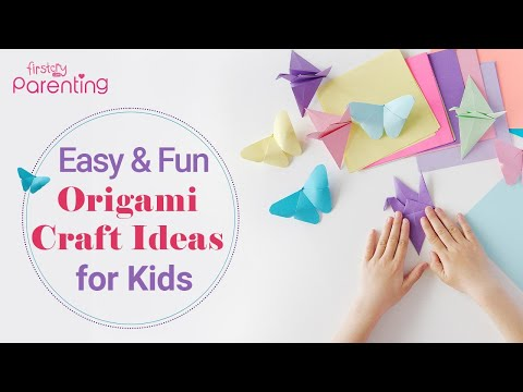 3 Easy and Fun Origami Craft Ideas for Kids