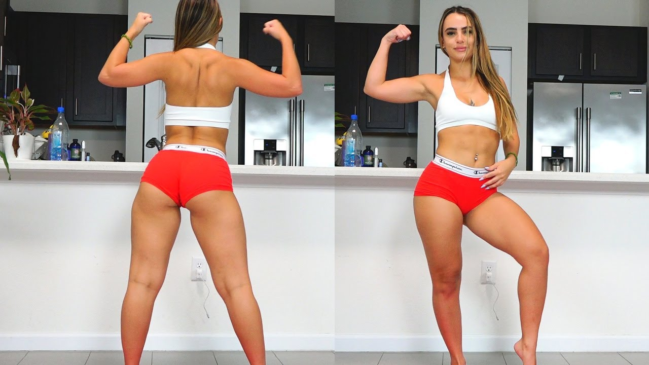 Booty, Legs, and Abs Workout with Sexy Fitness Model!