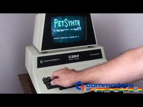 Demo Piano Commodore Pet - Sonido CBM PET