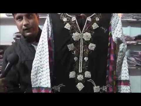 Pakistani  Ladies Fashion Suites Expo in Delhi India by  Asnan Fabrics  Jaffrani.com