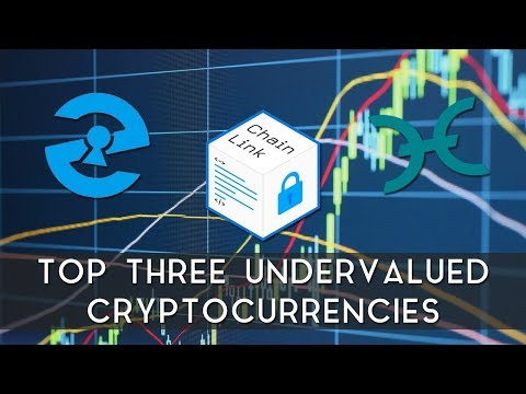 Top Three Undervalued Cryptocurrencies