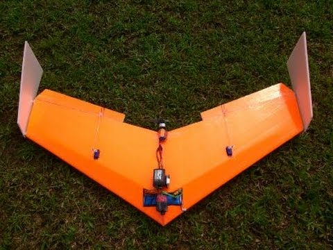 Build Super Simple Flying Wing ( delta wing ) RC - High Speed - (Tiko V3) - UChls9lbYGKVHm6FCFqWMiPw
