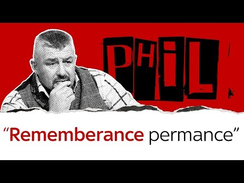 Phil Campion gets emotional about remembrance