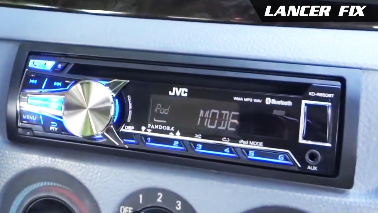 Lancer Fix 25 | Install JVC KD-R850BT Stereo System