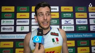 Test match Nazionale maschile: le parole di Oreste Cavuto al termine di Italia-Slovenia 1-3