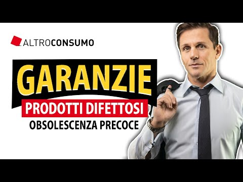 Garanzie, prodotti difettosi e obsolescenza precoce | avv. Angelo Greco