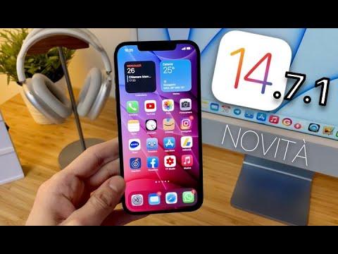 iOS 14.7.1 FUORI ORA | NOVITÀ + CONSIGL …