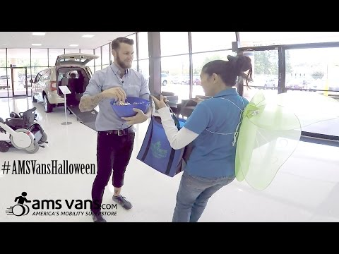 AMS Vans Halloween Giveaway