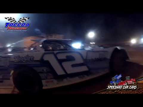 #12 Daniel Wilson - Limited Late Model - 10-23-21 Toccoa Raceway - In-Car Camera - dirt track racing video image