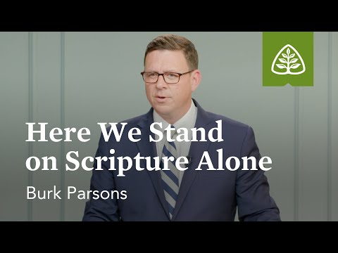 Burk Parsons: Here We Stand on Scripture Alone