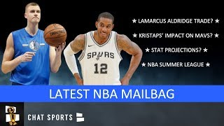 NBA Rumors Mailbag: LaMarcus Aldridge Trade, Kristaps Porzingis, Russell Westbrook & Summer League