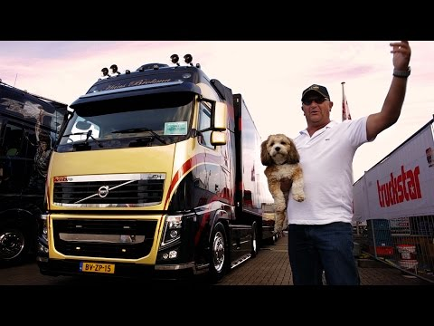 """Volvo Trucks ? Why does this Volvo FH strike the perfect note"""" ? ?Welcome to my cab ? light?"""
