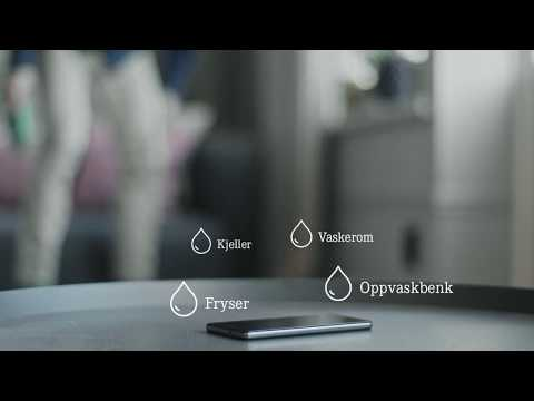Vannalarm: oppdager vannlekkasje i tide