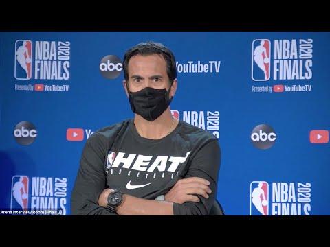 Erik Spoelstra On NBA Finals, Facing LeBron James | NBA Finals Game 1 Interview