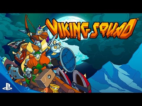 Viking Squad - Launch Trailer | PS4 - UC-2Y8dQb0S6DtpxNgAKoJKA