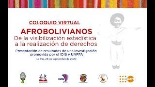 Afrobolivianos, de la visibilización estadística a la realiazación de derechos