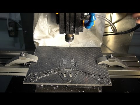 Machining Carbon Fiber Racing Quad Frame - UCQNxOoeIo2y6EHeFjHO_4Mw